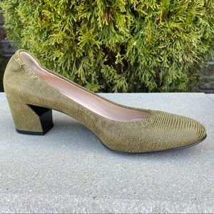 NEW Casadei Ballet Chunky Low Heel Shoes 39